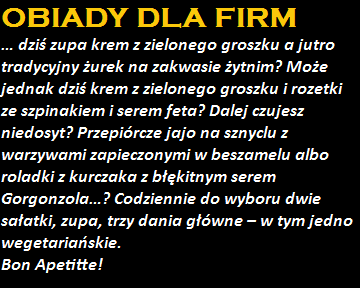 Obiady dla firm